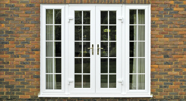 French doors economy windows for Back door french doors